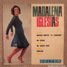 Discos de vinilo: MADALENA IGLESIAS - 1966. Lote 194653735