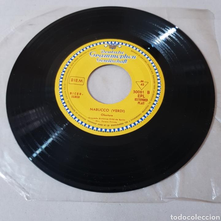 Discos de vinilo: GIUSEPPE VERDI - LA FORZA DEL DESTINO - NABUCCO - DIR FENEC FRICSAY- ORQUESTA SINFONICA DE BERLIN - Foto 3 - 194657023