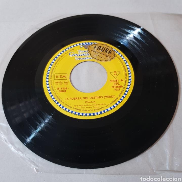 Discos de vinilo: GIUSEPPE VERDI - LA FORZA DEL DESTINO - NABUCCO - DIR FENEC FRICSAY- ORQUESTA SINFONICA DE BERLIN - Foto 4 - 194657023