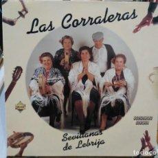 Discos de vinilo: LAS CORRALERAS - SEVILLANAS DE LEBRIJA - LP. DEL SELLO PASARELA 1991. Lote 194657120