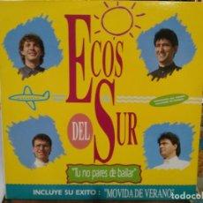 Discos de vinilo: ECOS DEL SUR (SEVILLANAS) - TU NO PARES DE BAILAR - LP. DEL SELLO KOKA MUSIC 1990. Lote 194657241