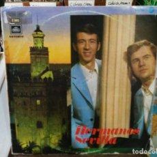 Discos de vinilo: HERMANOS SEVILLA (SEVILLANAS/RUMBAS) - CON TUS PATRONES, EL PLANTÓN, MÍRALO...- LP. SELLO REGAL 1972. Lote 194657465