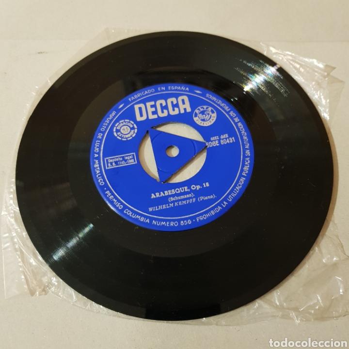Discos de vinilo: WILHELM KEMPFF - ARABESQUE OP. 18 - AÑOS DE PEREGRINAJE ( MUSICA PARA PIANO ) - Foto 4 - 194657473