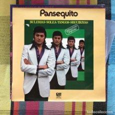 Discos de vinilo: PANSEQUITO - GRABACIONES ORIGINALES - LP GRAMUSIC 1979. Lote 194658466