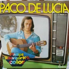 Discos de vinilo: PACO DE LUCÍA - ENTRE DOS AGUAS, PANADEROS FLAMENCOS, ÍMPETU ... LP. PHILIPS 1975. Lote 194658475