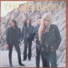 Discos de vinilo: TAHURES ZURDOS - NIEVE NEGRA (LP) 1991. Lote 194658580