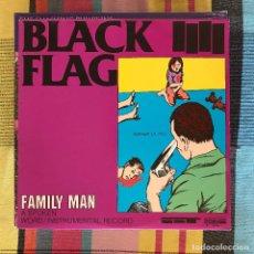 Discos de vinilo: BLACK FLAG - FAMILY MAN - LP SST 1984. Lote 194659015