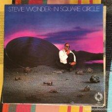 Discos de vinilo: STEVIE WONDER - IN SQUARE CIRCLE - LP MOTOWN SPAIN 1985. Lote 194660106