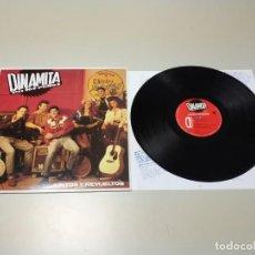 Discos de vinilo: 0220- DINAMITA PA LOS POLLOS JUNTOS Y REVUELTOS ESP 1992 LP VIN POR VG ++ DIS NM. Lote 194660910