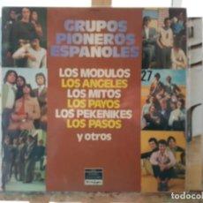Discos de vinilo: ** GRUPOS PIONEROS ESPAÑOLES (LOS PASOS, SOLERA, LOS ÁNGELES...) DOBLE LP 1978 - LEER DESCRIPCIÓN. Lote 194665961