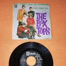 Discos de vinilo: THE BOX TOPS. I MET HER IN CHURCH. STATESIDE RECORDS. 1968. Lote 194666153