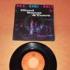 Discos de vinilo: BLOOD,SWEAT & TEARS. HI-DE-HO. THE BATTLE.CBS 1970. Lote 194666615