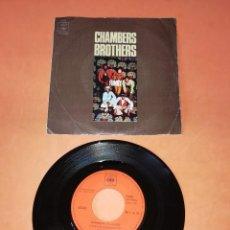 Discos de vinilo: CHAMBERS BROTHERS. FUNKY. AMOR, PAZ Y FELICIDAD. CBS 1971. Lote 194667190