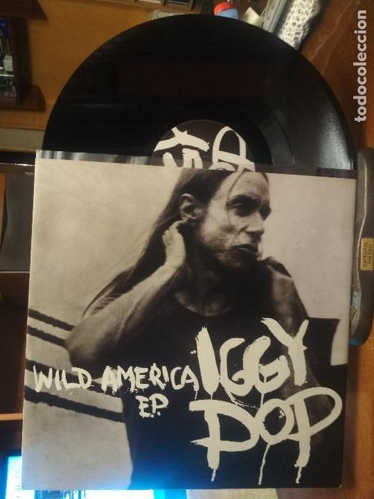 IGGY POP WILD AMERICA EP. MAXI UK 1993 PEPETO TOP (Música - Discos de Vinilo - Maxi Singles - Pop - Rock Extranjero de los 90 a la actualidad)
