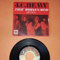 Discos de vinilo: J.C. HEAVY. THAT WOMAN,S MIND. MR DEAL . EXPLOSION RECORDS. 1971.. Lote 194667873