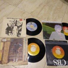 Discos de vinilo: BOB DYLAN - CUATRO SINGLES-EDITADOS EN ESPAÑA-. Lote 194668178