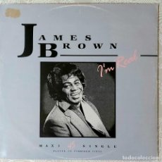 Discos de vinilo: JAMES BROWN - I'M REAL. Lote 194668645