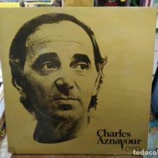 Discos de vinilo: CHARLES AZNAVOUR - ORO - DOBLE LP. DEL SELLO BARCLAY 1982. Lote 194669080
