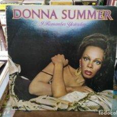 Discos de vinilo: DONNA SUMMER - I REMEMBER YESTERDAY - LP. DEL SELLO ARIOLA 1977. Lote 194669772