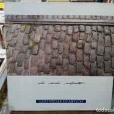 Discos de vinilo: LITO VITALE CUARTETO - LA SENDA INFINITA - LP. DEL SELLO GRABACIONES ACCIDENTALES 1989. Lote 194670442