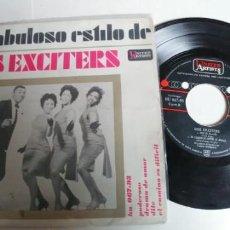 Discos de vinilo: LOS EXCITERS-EP PODEROSO +3. Lote 194671168