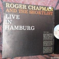 Discos de vinilo: ROGER CHAPMAN AND THE SHORTLIST LIVE IN HAMBURG ESPAÑA 1980. Lote 194671315
