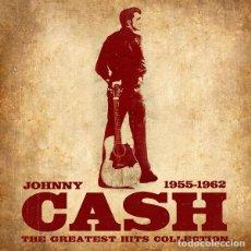 Discos de vinilo: JOHNNY CASH - 1955 1962 THE GREATEST HITS COLLECTION - LP PRECINTADO.. Lote 194671626