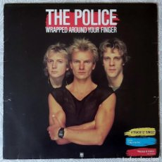Discos de vinilo: THE POLICE - WRAPPED AROUND YOUR FINGER 1983. Lote 194671883