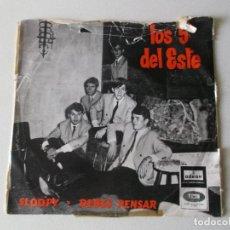 Discos de vinilo: LOS 5 DEL ESTE, SLOOPY,DEBES PENSAR, ODEON 1966. Lote 194674140