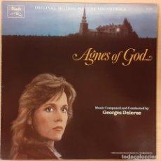 Discos de vinilo: AGNES DE DIOS (AGNES OF GOD) GEORGES DELERUE. Lote 194674700