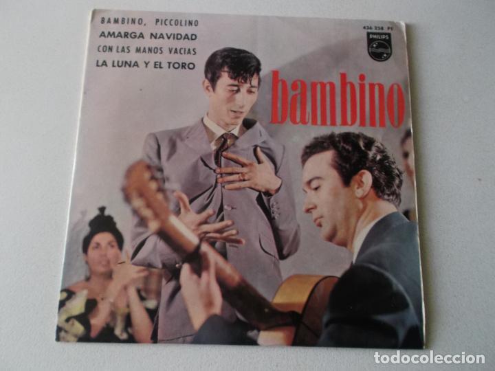 BAMBINO,BAMBINO, PICCOLINO (Música - Discos de Vinilo - EPs - Flamenco, Canción española y Cuplé)