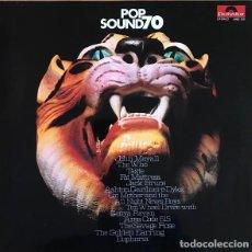 Discos de vinilo: VARIOUS – POP SOUND 70 LP PSYCHEDELIC ROCK, CLASSIC ROCK, BLUES ROCK. Lote 194677840