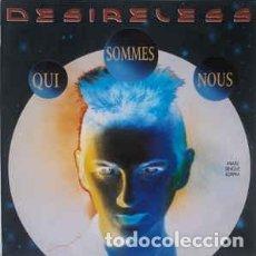 Discos de vinilo: DESIRELESS - QUI SOMMES-NOUS - MAXI-SINGLE. SPAIN 1989. Lote 194680992