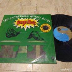 Discos de vinilo: THE INCREDIBLE BONGO BAND - BONGO ROCK (LP ORIGINAL ESPAÑOL 1973) FUNK BREAKS. Lote 194683910