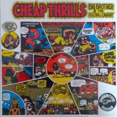 Discos de vinilo: JANIS JOPLIN. BIG BROTHER & THE HOLDING COMPANY. CHEAP THRILLS. Lote 194684172