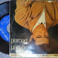 Discos de vinilo: GILBERT BECAUD. Lote 194685385