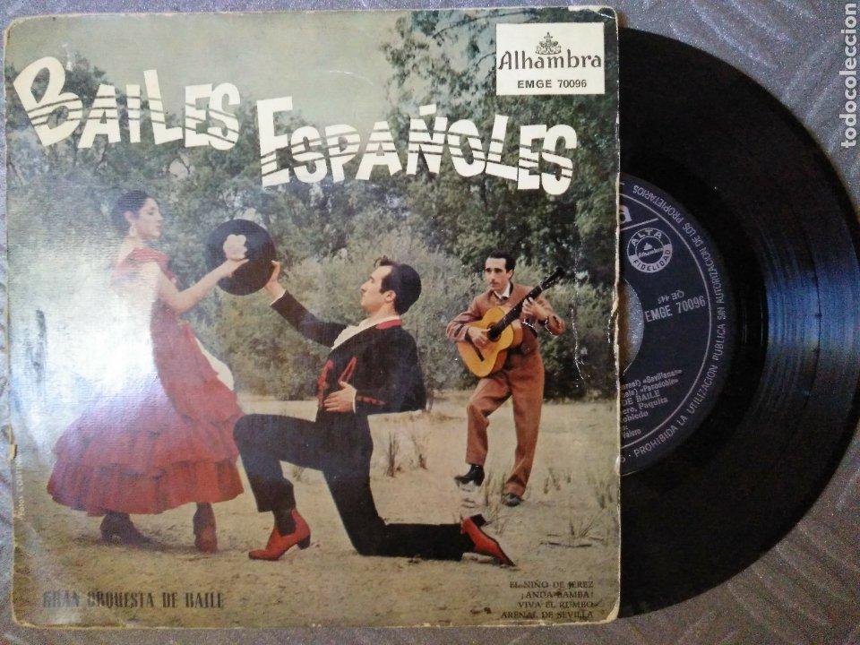 BAILES ESPAÑOLES (Música - Discos de Vinilo - EPs - Flamenco, Canción española y Cuplé)