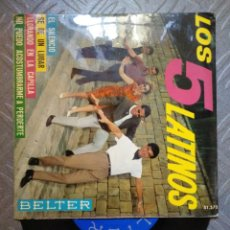 Discos de vinilo: LOS 5 LATINOS. Lote 194685893