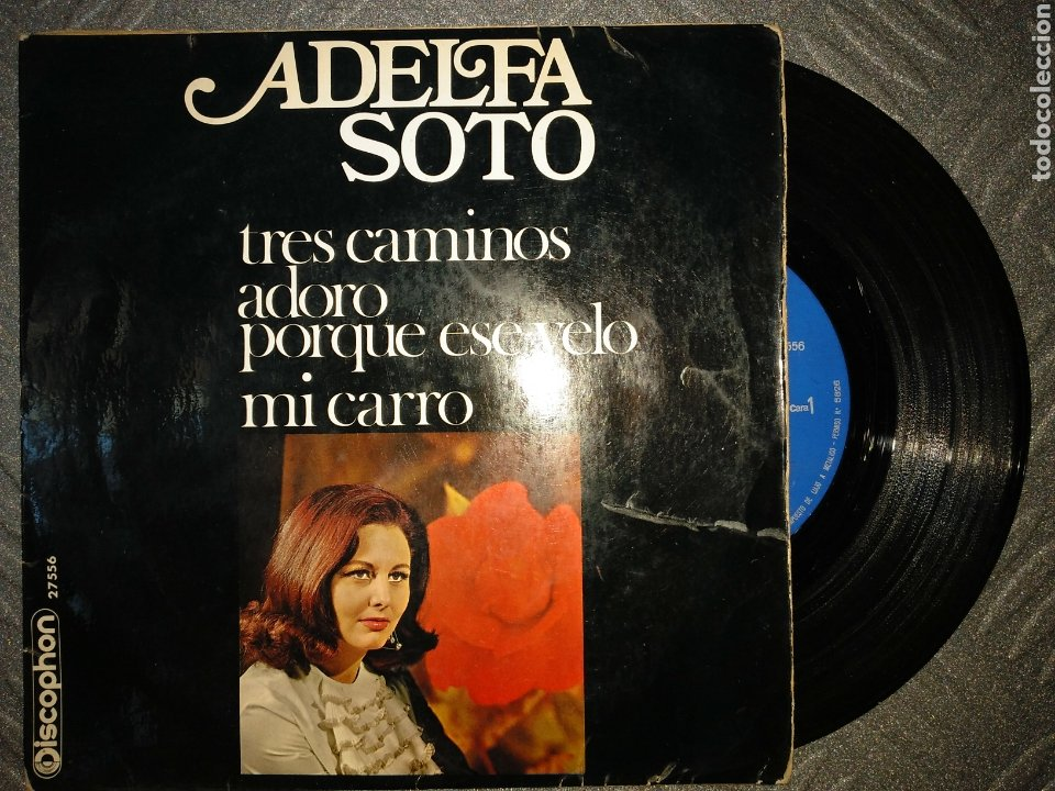 ADELFA SOTO (Música - Discos de Vinilo - EPs - Flamenco, Canción española y Cuplé)
