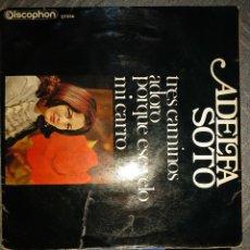 Discos de vinilo: ADELFA SOTO. Lote 194685957