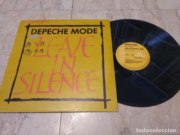 DEPECHE MODE. LEAVE IN SILENCE. RCA-MUTE, SPAIN 1982 MAXI- 12 * (Música - Discos de Vinilo - Maxi Singles - Grupos Españoles de los 70 y 80)