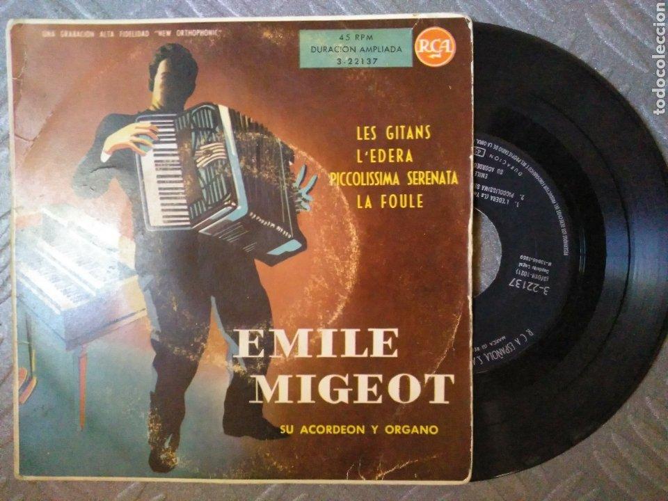 ÉMILE MIGEOT (Música - Discos de Vinilo - EPs - Orquestas)