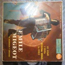 Discos de vinilo: ÉMILE MIGEOT. Lote 194686248