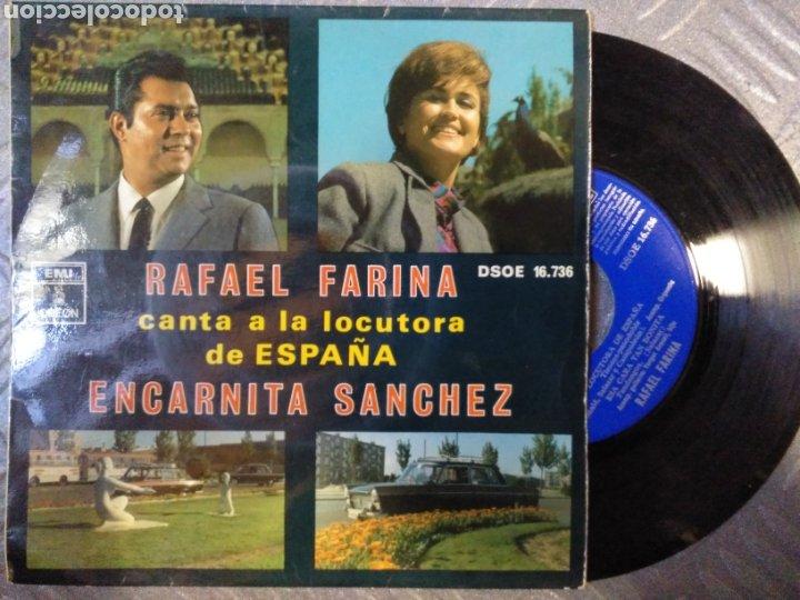 RAFAEL FARINA- ENCARNITA (Música - Discos de Vinilo - EPs - Flamenco, Canción española y Cuplé)