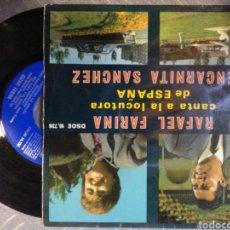 Discos de vinilo: RAFAEL FARINA- ENCARNITA. Lote 194686408
