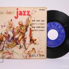 Discos de vinilo: DISCO EP DE VINILO - DIXIELAND JAZZ / BASIN STREET BLUES... - BELTER - AÑO 1957. Lote 194686770