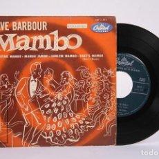 Discos de vinilo: DISCO EP DE VINILO - DAVE BARBOUR / MAMBO - CAPITOL - AÑOS 50. Lote 194686796