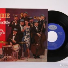 Discos de vinilo: DISCO EP DE VINILO - DIXIE IN SOCIETY / BARNEY RICHARDS AND HIS REBELS - EMARCY - AÑO 1960. Lote 194687090