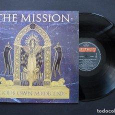 Discos de vinilo: THE MISSION ?– GOD'S OWN MEDICINE – VINILO 1986. Lote 194689660