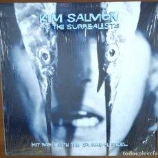 Discos de vinilo: KIM SALMON AND THE SURREALISTS - HIT ME WITH THE SURREAL FEEL LP 1996 EXCELENTES CONDICIONES . Lote 194692402